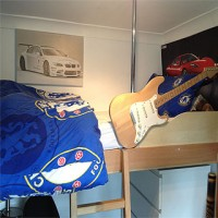 Guitar bunk bed