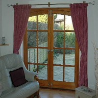 Beautifully fitted french doors