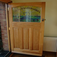 Beautiful Oak door